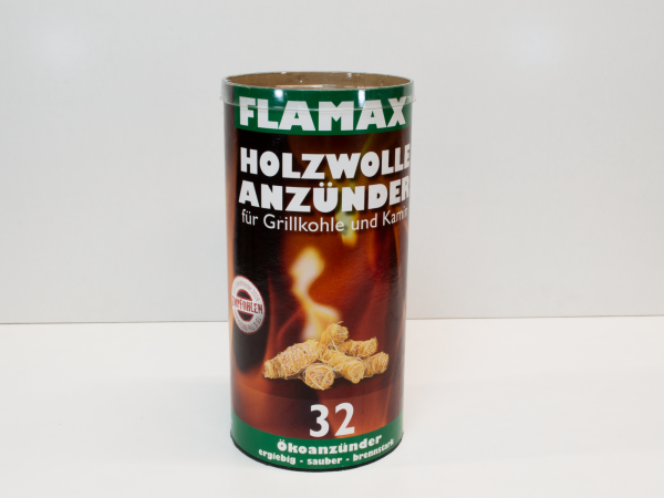 Flamax 32 Holzwolle Anzünder