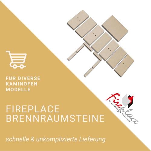Fireplace-Brennraumsteine