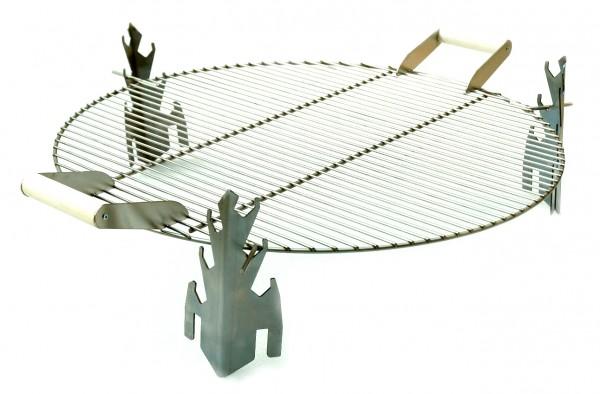 SvenskaV Grillaufsatz für die Feuerschale CROSS 63 cm